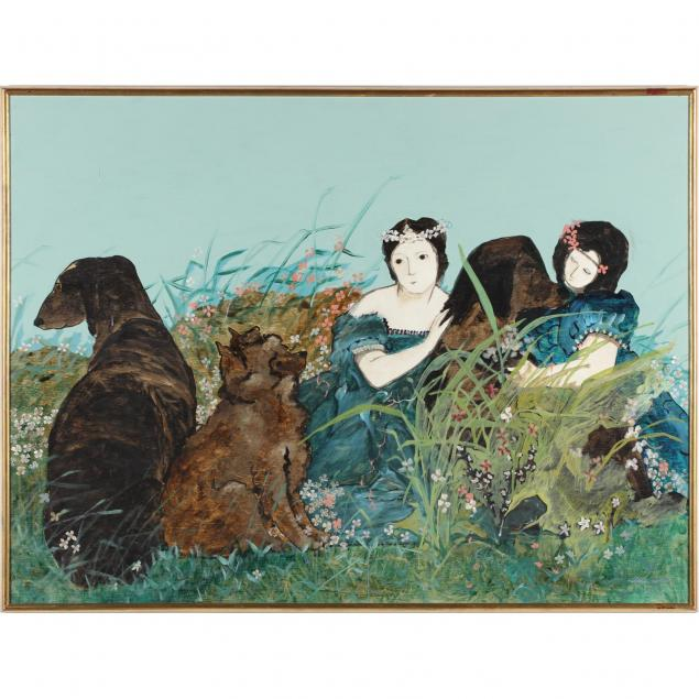 stephen-white-nc-women-with-dogs