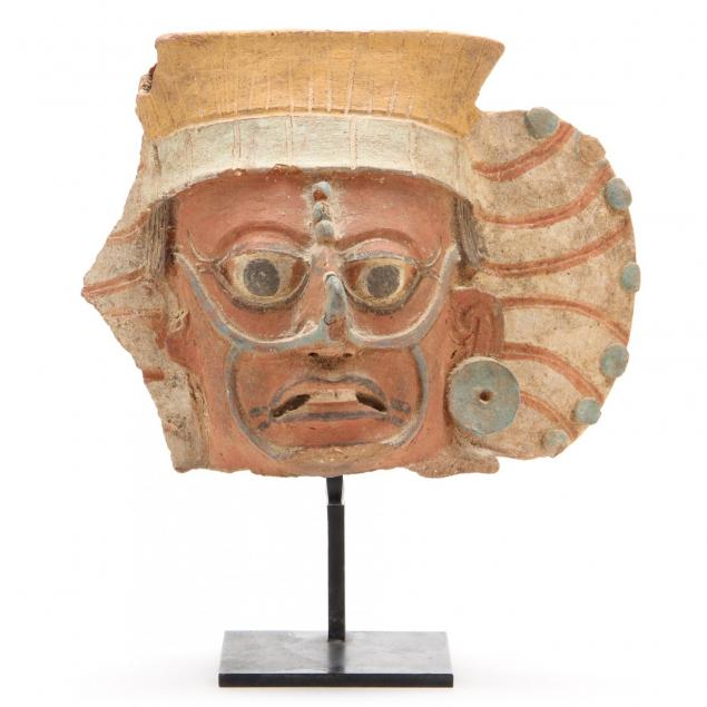 pre-columbian-heavily-painted-head-of-a-mayan-warrior
