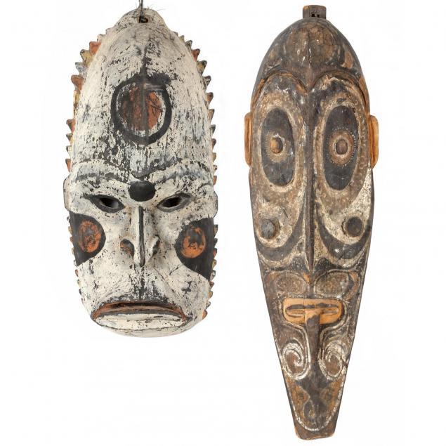 papua-new-guinea-two-sepik-river-masks
