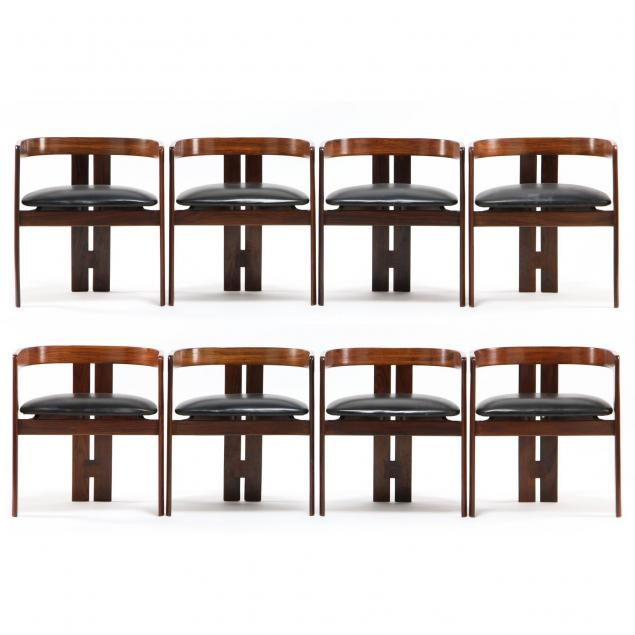 afra-and-tobia-scarpa-eight-pigreco-chairs