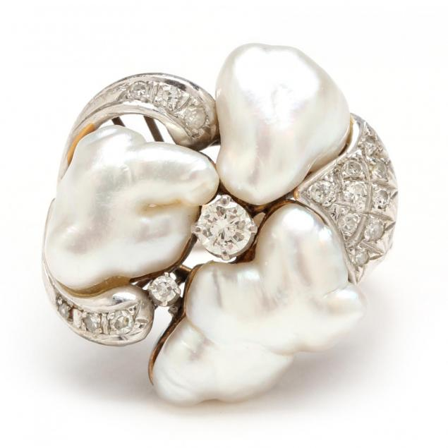 14kt-pearl-and-diamond-ring
