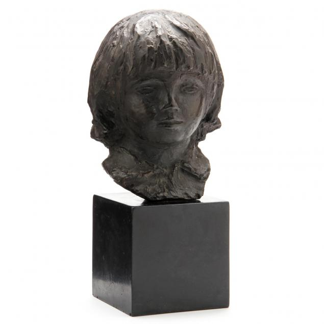 faux-bronze-head-of-a-young-boy