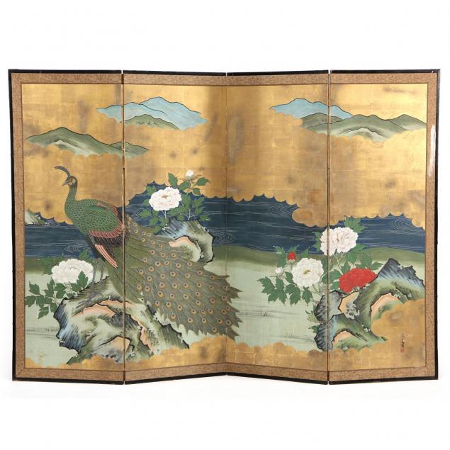 japanese-four-panel-floor-screen