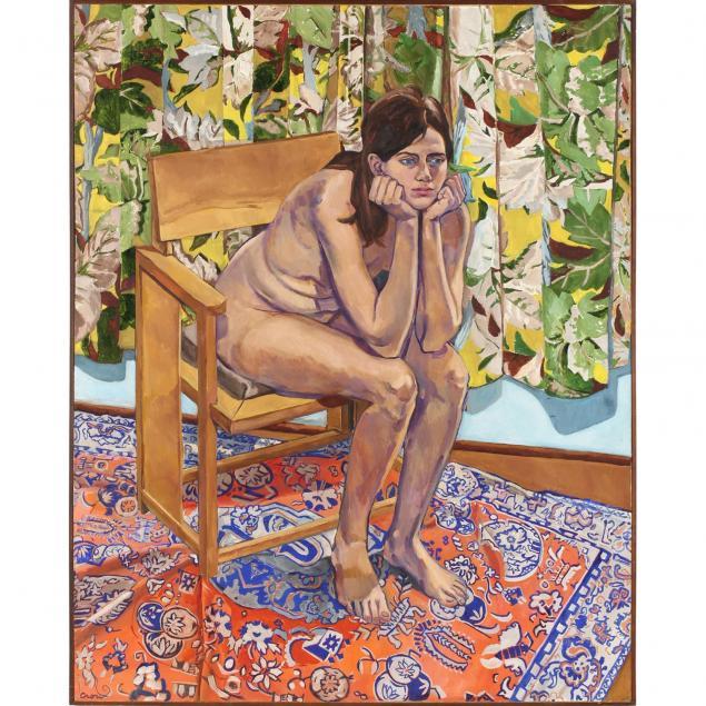 american-school-20th-century-seated-nude