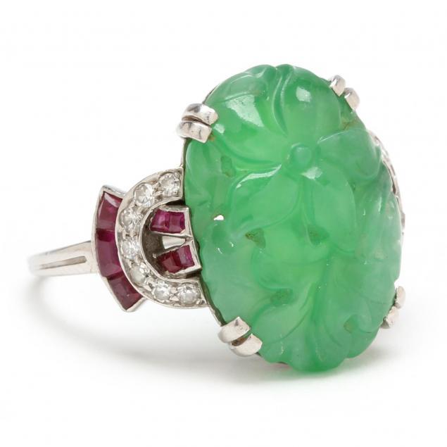 art-deco-platinum-jade-and-diamond-ring-ellis-bros