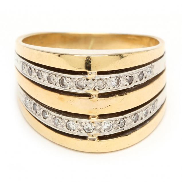 18kt-gold-and-diamond-dome-ring