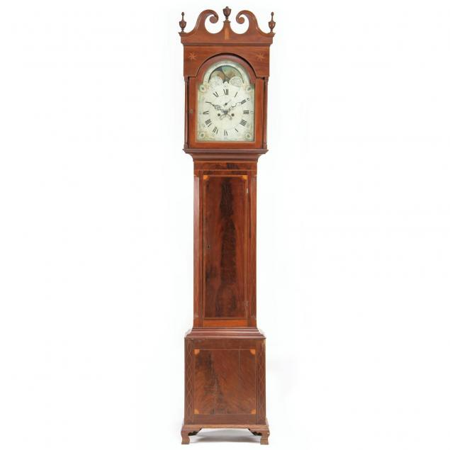 southern-federal-inlaid-tall-case-clock