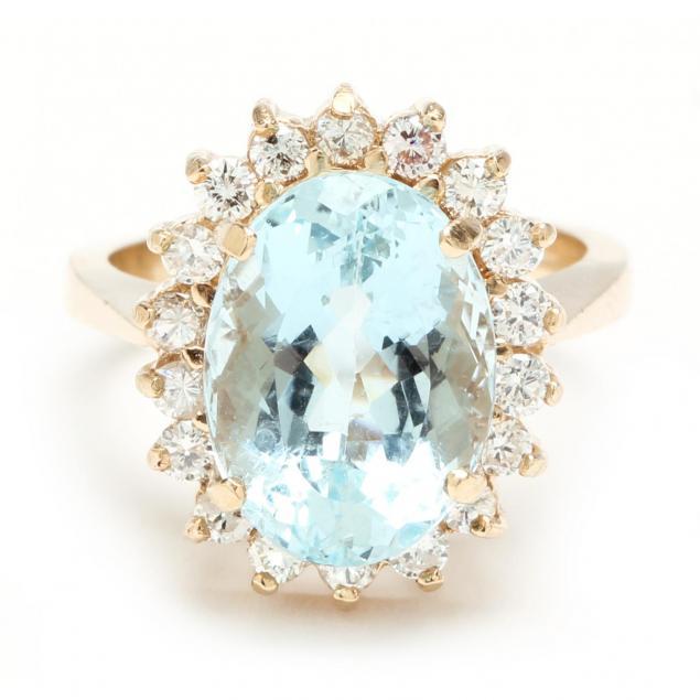 14kt-aquamarine-and-diamond-ring