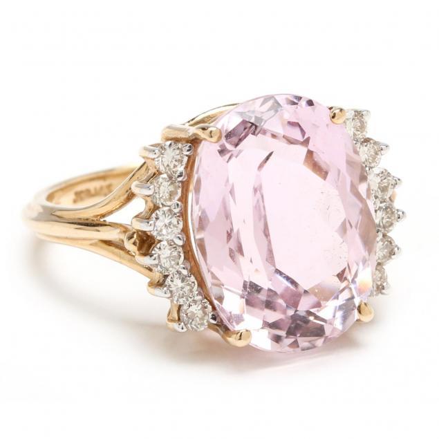 14kt-kunzite-and-diamond-ring
