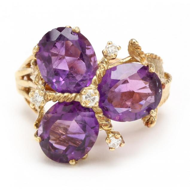 14kt-amethyst-and-diamond-ring