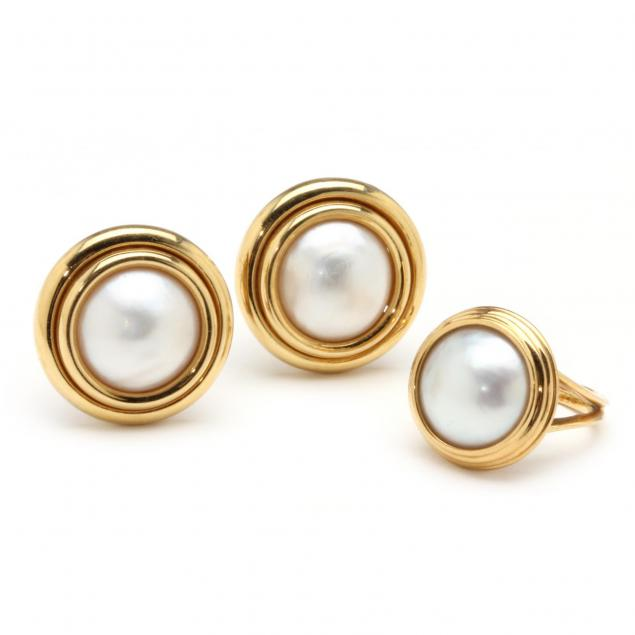 18kt-mabe-pearl-ear-clips-and-ring