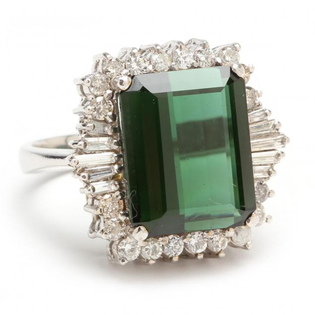 18kt-green-tourmaline-and-diamond-ring