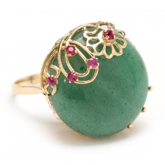14kt-chalcedony-and-ruby-ring