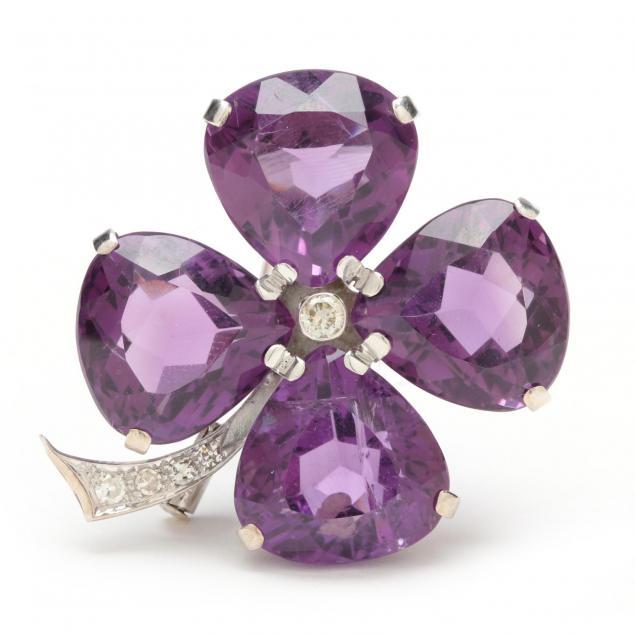 18kt-amethyst-and-diamond-clip-brooch