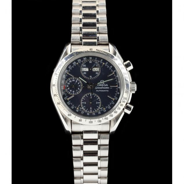 gent-s-stainless-steel-speedmaster-automatic-watch-omega