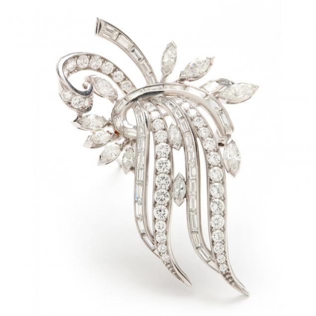 vintage-platinum-and-diamond-brooch