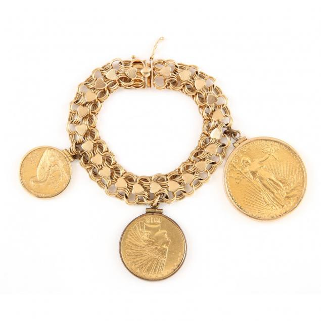 charm-bracelet-with-antique-coins
