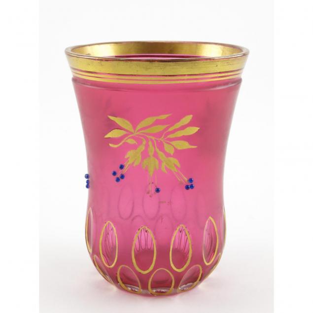 antique-german-glass-vase