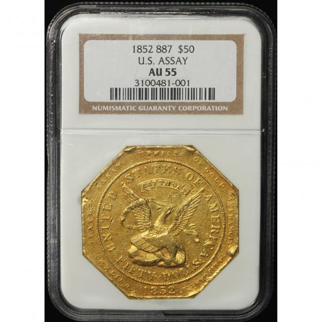 1852-u-s-assay-office-50-gold-887-thous-ngc-au55