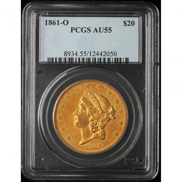 1861-0-20-gold-pcgs-au55