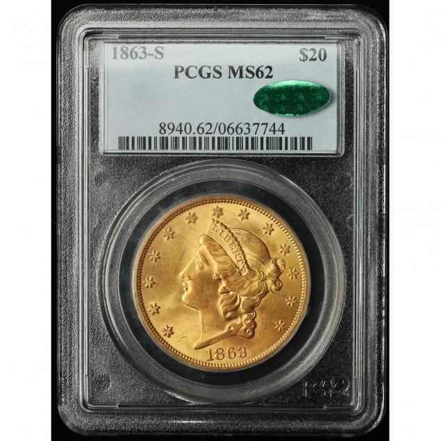 1863-s-20-gold-pcgs-ms62-cac