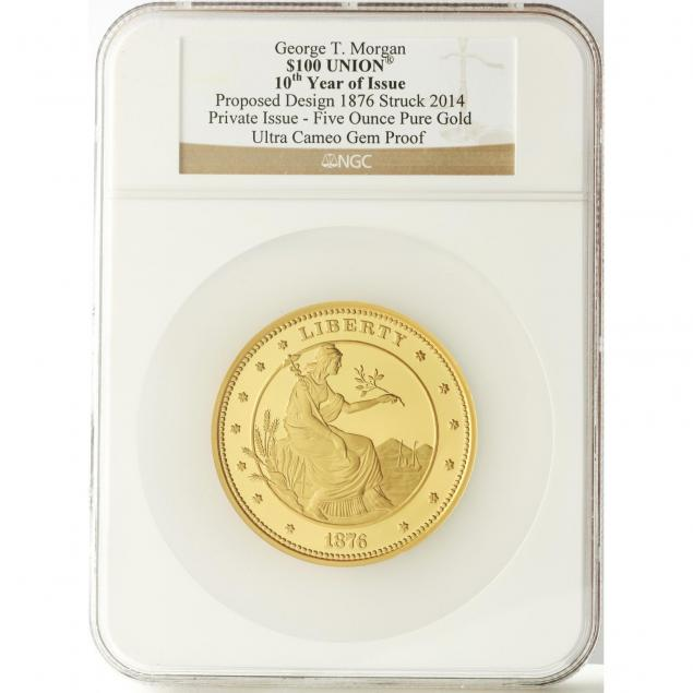 2014-george-t-morgan-100-uniona-private-five-ounce-gold