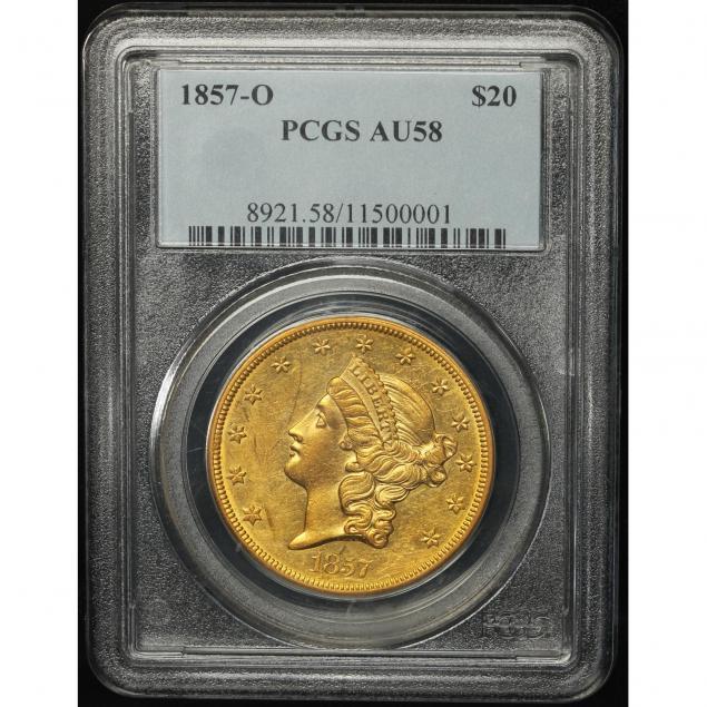 1857-o-20-gold-pcgs-au58
