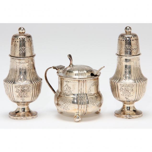 victorian-silver-condiment-set