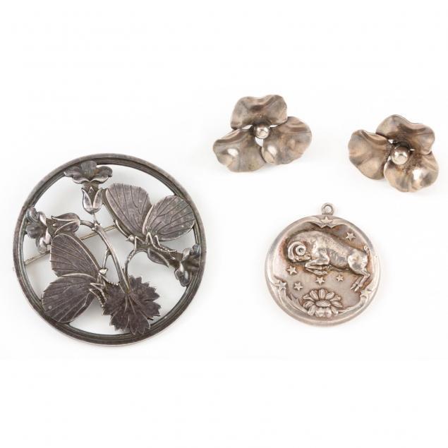 three-sterling-jewelry-items-georg-jensen