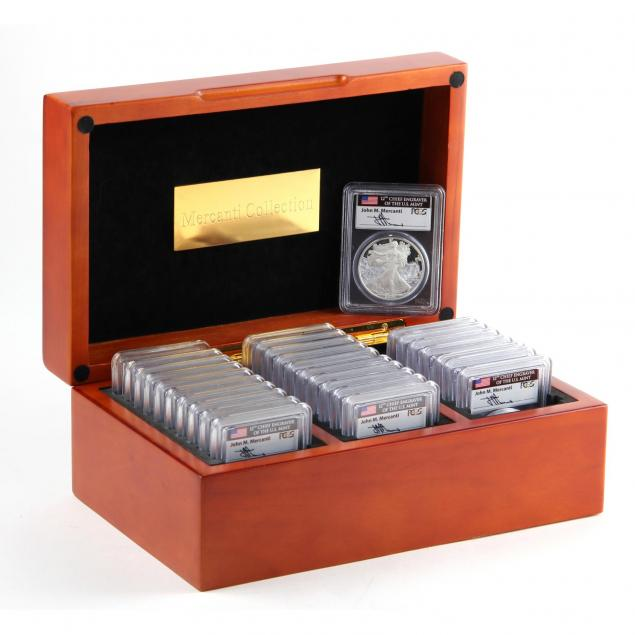 set-of-28-different-proof-american-silver-eagles-1986-2013