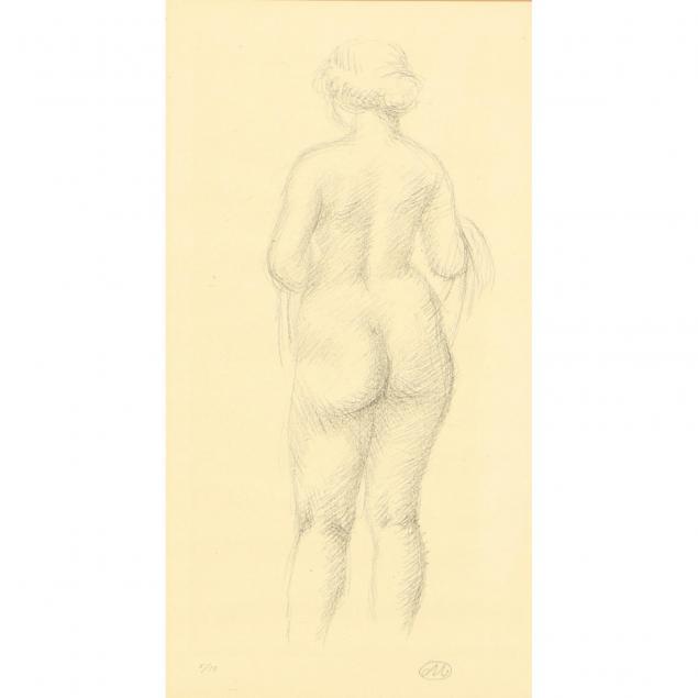 aristide-maillol-french-1861-1944-femme-nue-de-dos-tenant-une-echarpe
