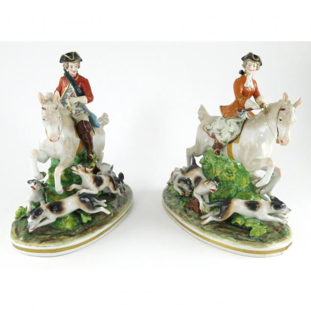 pair-of-capodimonte-porcelain-equestrian-figures