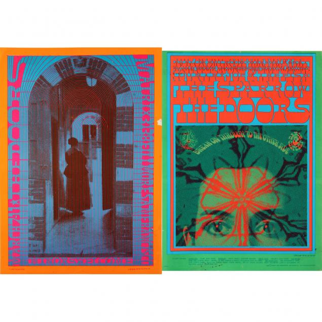 two-1967-concert-posters-for-the-doors