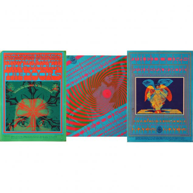 three-1967-concert-posters-for-the-doors-at-the-avalon-ballroom