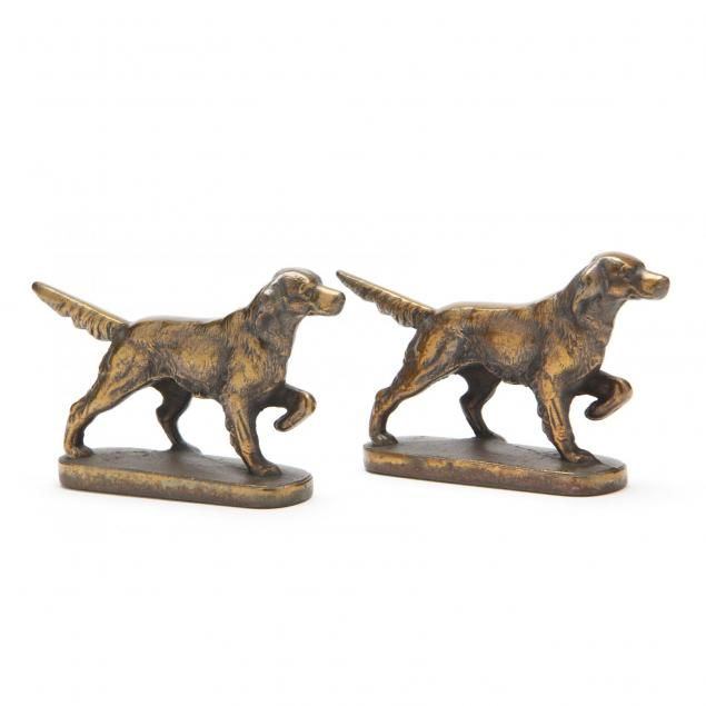pair-of-cast-brass-bookends