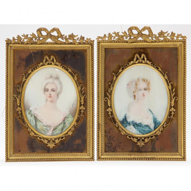 pair-of-portrait-miniatures