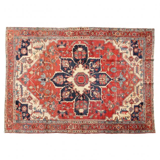 antique-persian-heriz-carpet