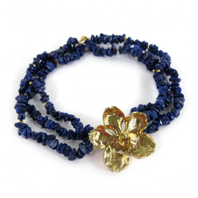 multi-strand-lapis-choker-necklace