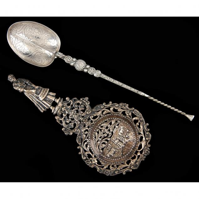 two-antique-decorative-silver-spoons