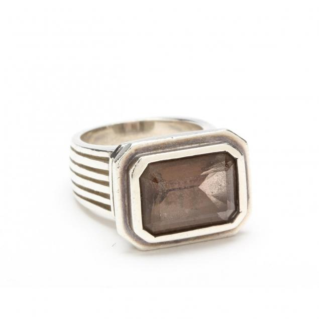 sterling-silver-smoky-quartz-ring