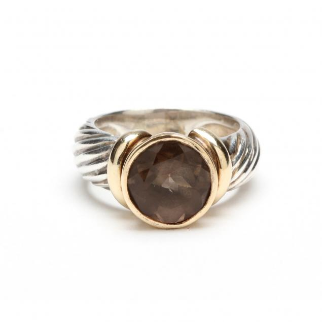 14kt-sterling-smoky-quartz-ring