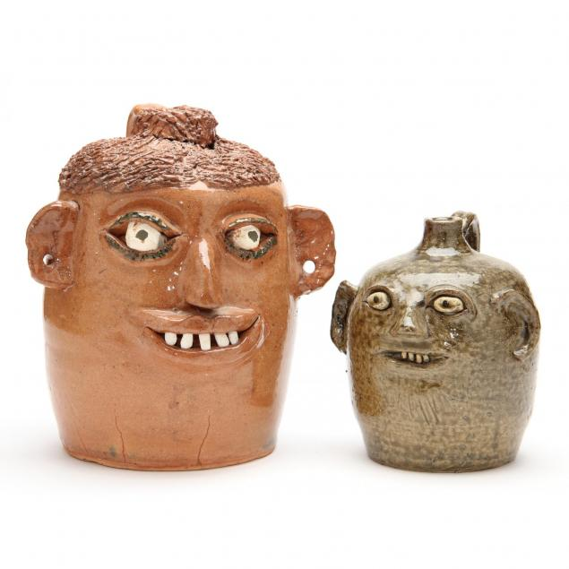 georgia-folk-pottery-reggie-meaders-and-flossie-meaders-face-jugs