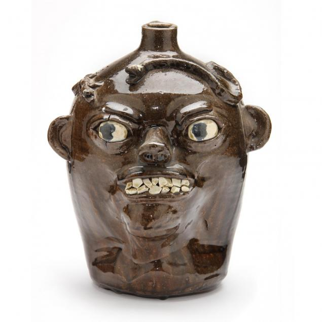 georgia-folk-pottery-chester-hewell-face-jug