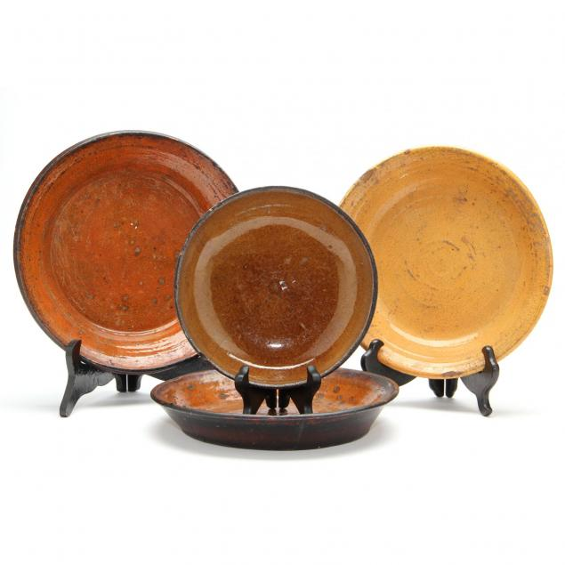 group-of-four-dirt-dishes