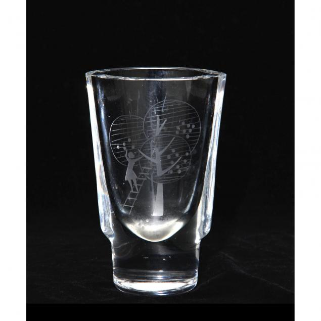 mid-century-engraved-apple-picking-vase