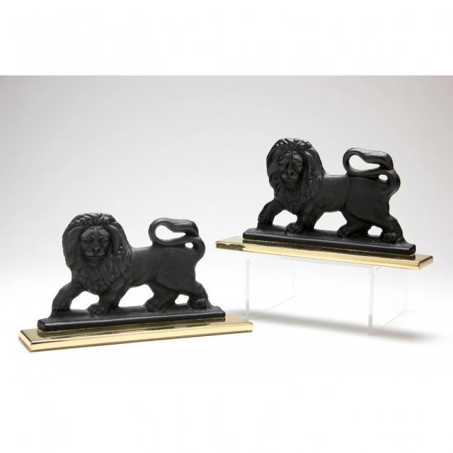 pair-of-baldwin-iron-and-brass-lion-form-doorstops