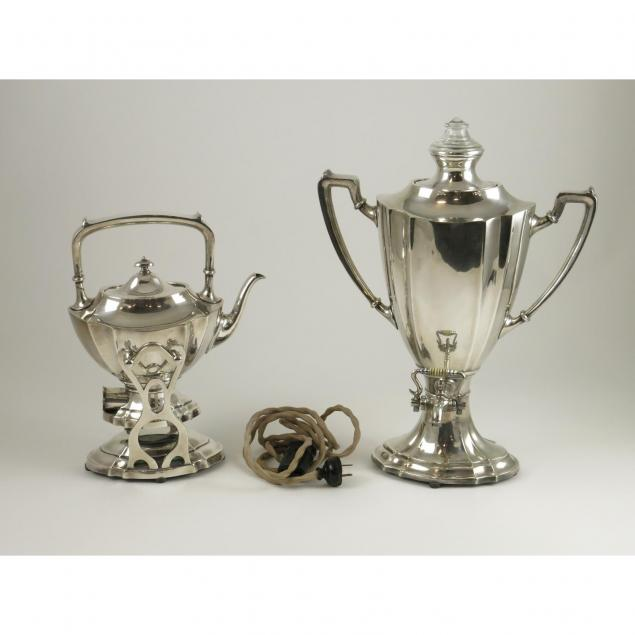 two-rogers-silverplate-heated-serving-pots