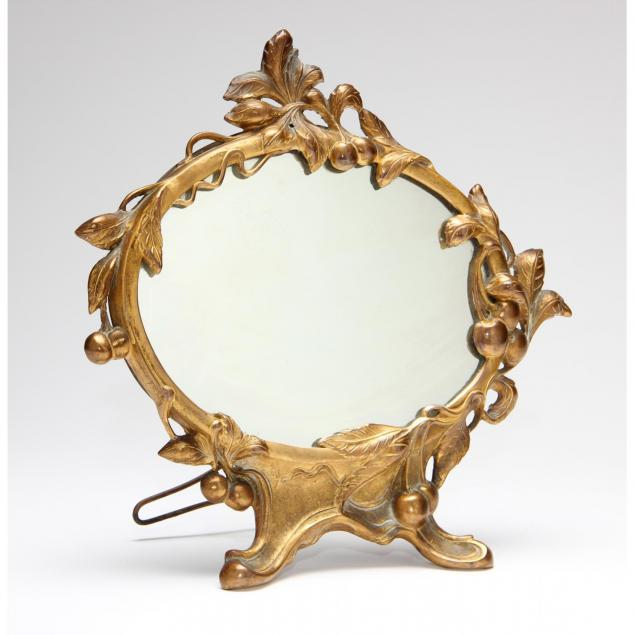 jennings-brothers-gilt-bronze-art-nouveau-boudoir-mirror