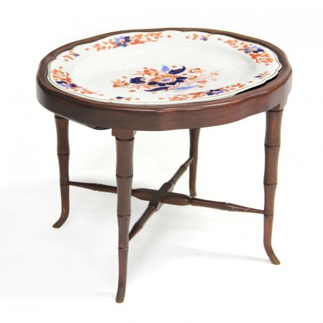 english-imari-porcelain-tray-on-stand