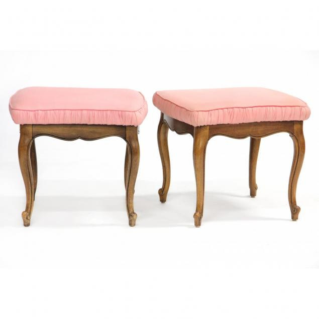 pair-of-thomasville-furniture-french-style-stools